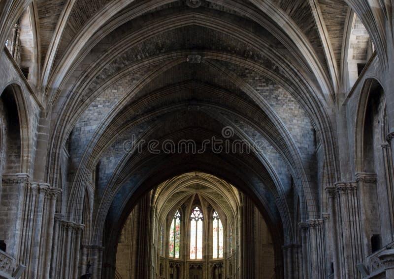 Купол готского собора стоковое фото