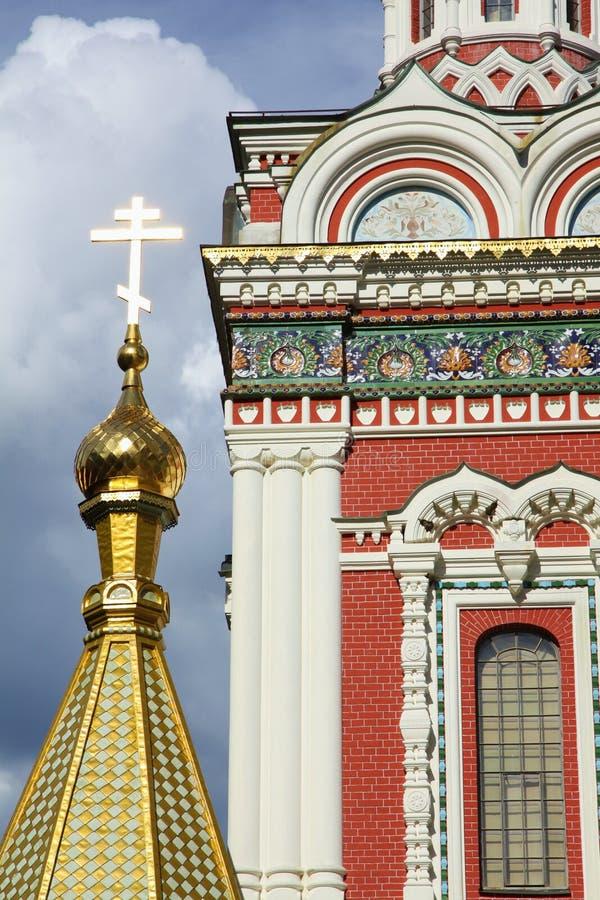 купол золотистый стоковое изображение