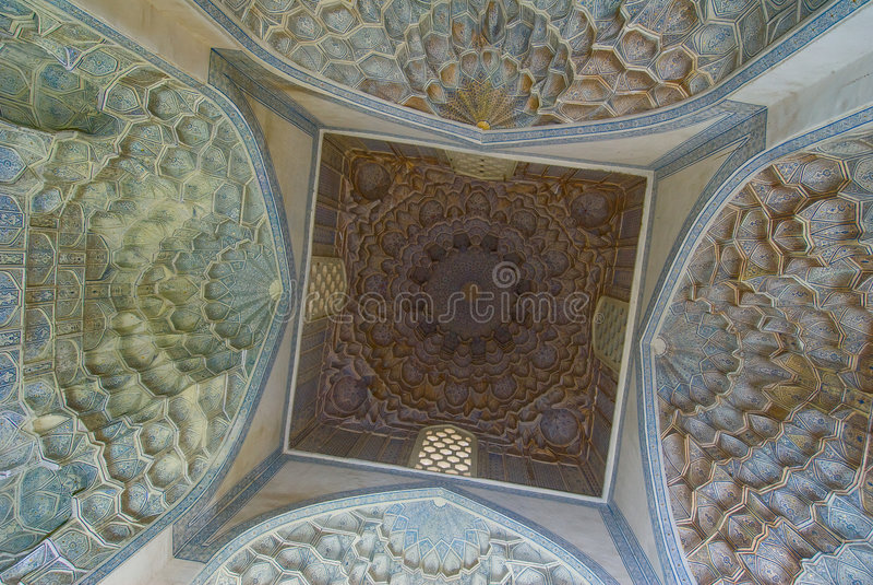 Купол мечети стоковое фото