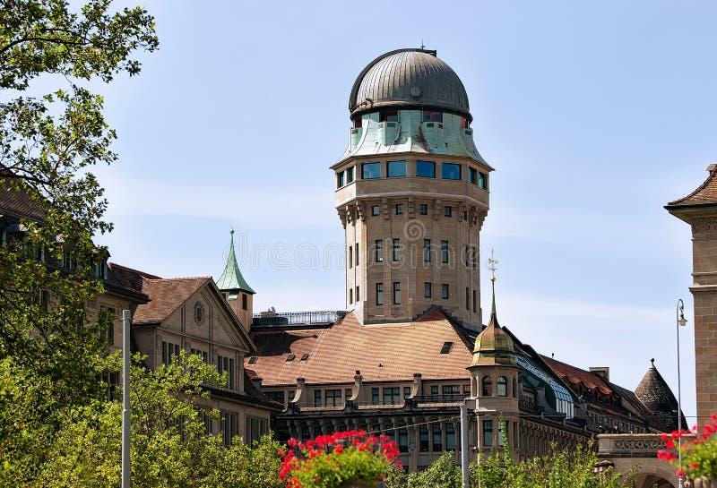 Купол телескопа в Цюрихе стоковые фотографии rf