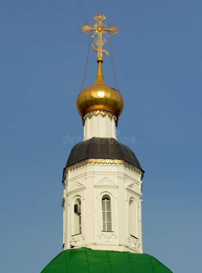 Купол церков в Владимире стоковые фотографии rf