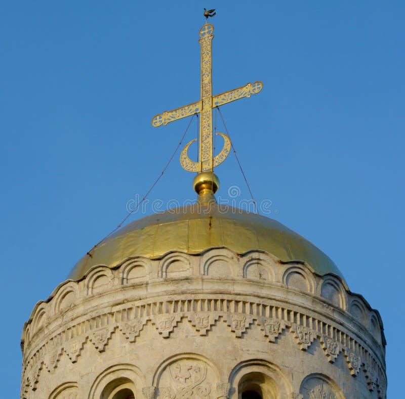 Купол церков в Владимире стоковая фотография rf