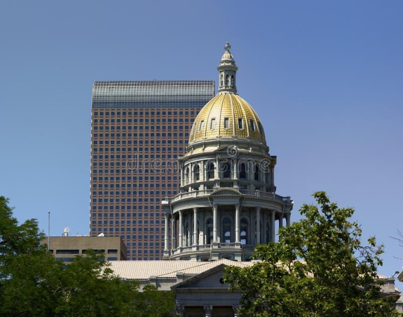 купол colorado капитолия здания стоковое фото