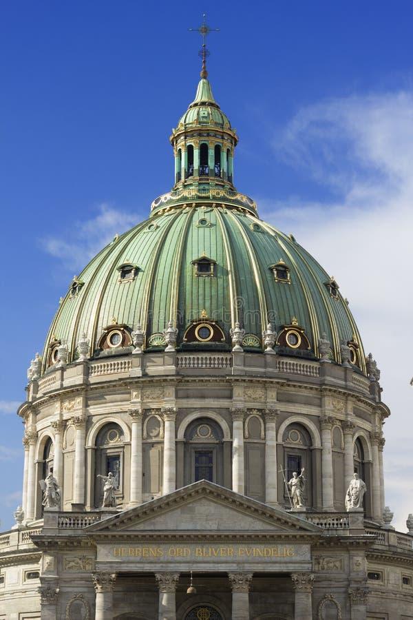 Купол Frederik& x27; церковь s стоковое изображение