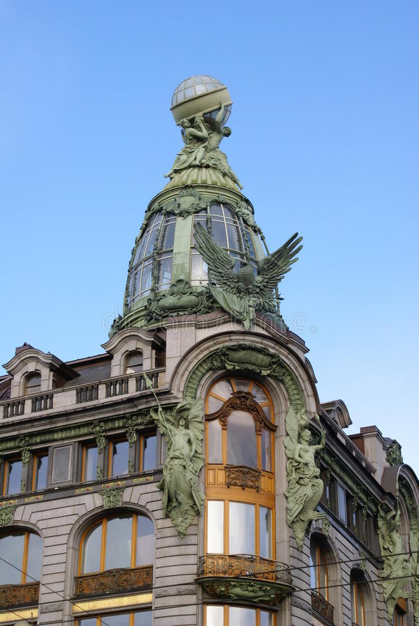 Купол, искусство Nouveau стоковые фото