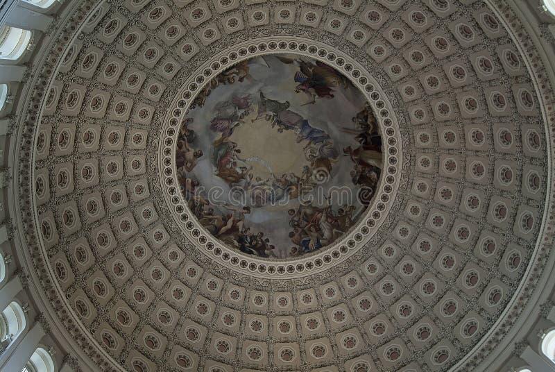 Купол капитолия стоковые изображения