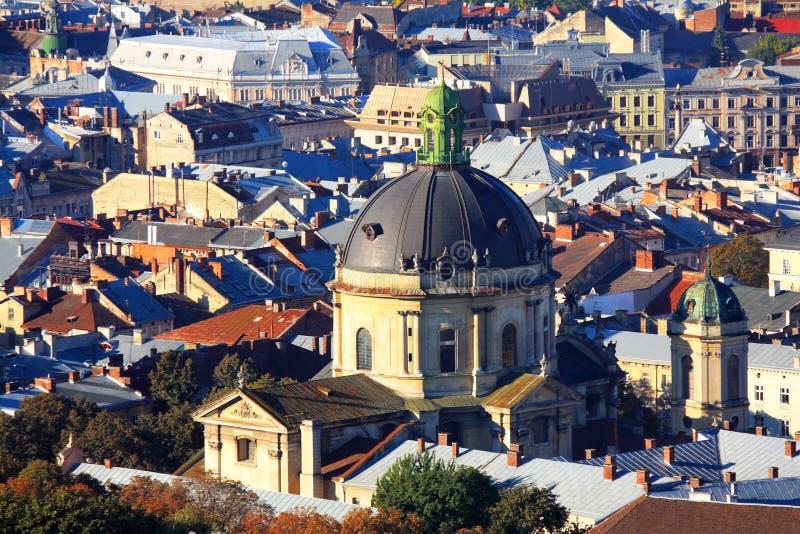 Download Купол католической кафедры, взгляд сверху Стоковое Фото - изображение насчитывающей готско, старо: 33732748