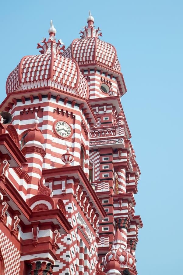 Купол мечети sri lanka colombo стоковая фотография
