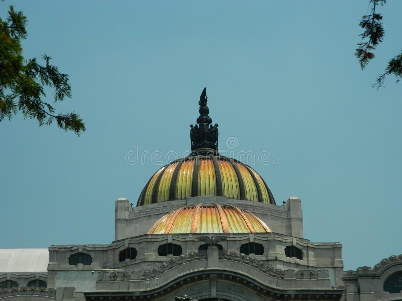 Купол музея изобразительных искусств стоковые фото
