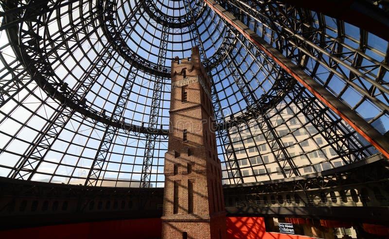 Купол на централи Мельбурна стоковая фотография