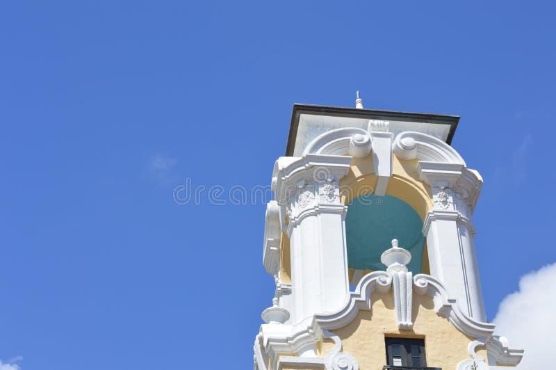 Куполок Coral Gables церков стоковое изображение rf