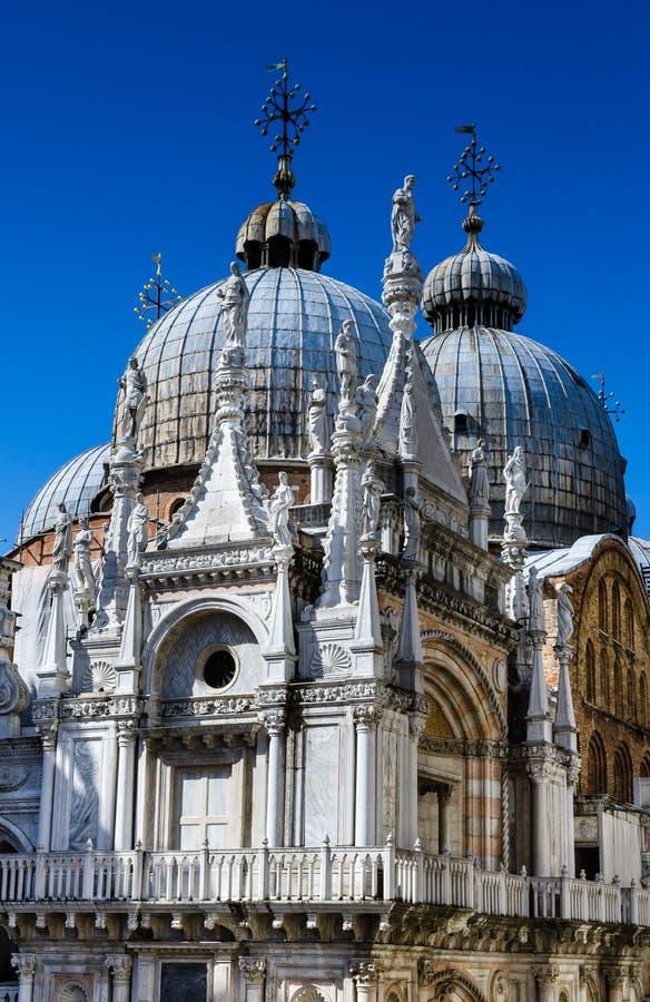 Купол Сан Marco базилики в Венеции, Италии стоковые изображения rf