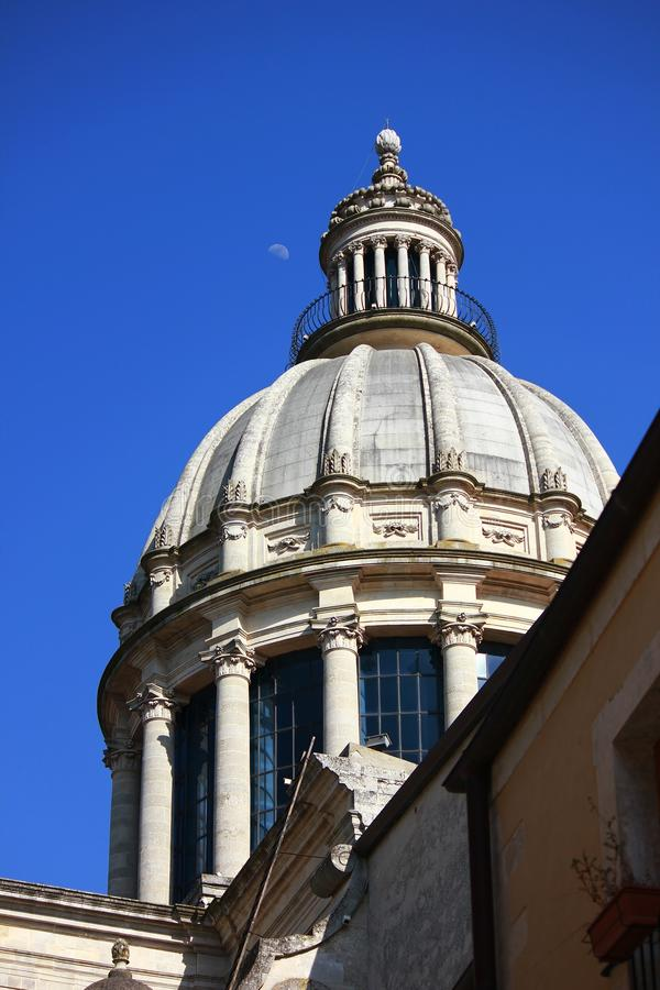 Купол собора St Giorgio стоковое фото