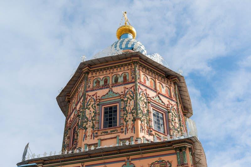 купол собора St Peter и Пола в Казани, республике Татарстана, России стоковые фото
