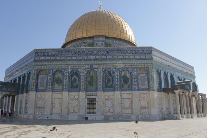 Купол утеса в Temple Mount в Иерусалиме стоковые изображения