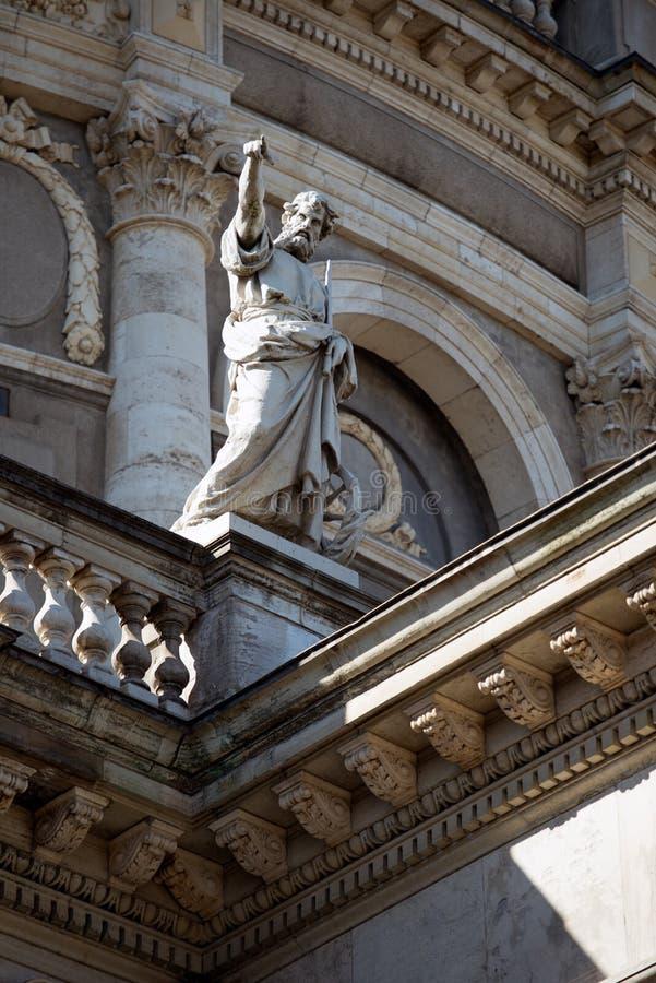 Купол церков ` s Frederik стоковые изображения rf
