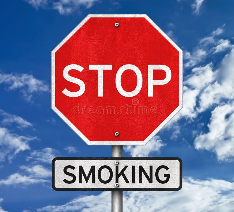 Курение изменения и стопа стоковая фотография rf
