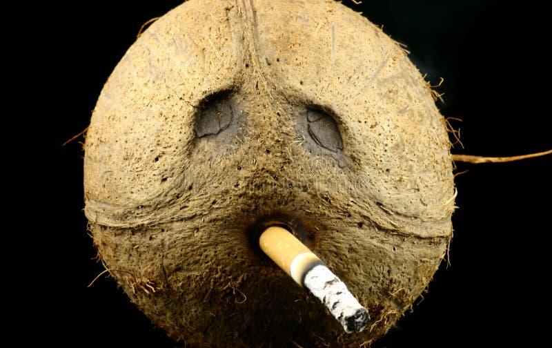курильщица стоковое изображение rf