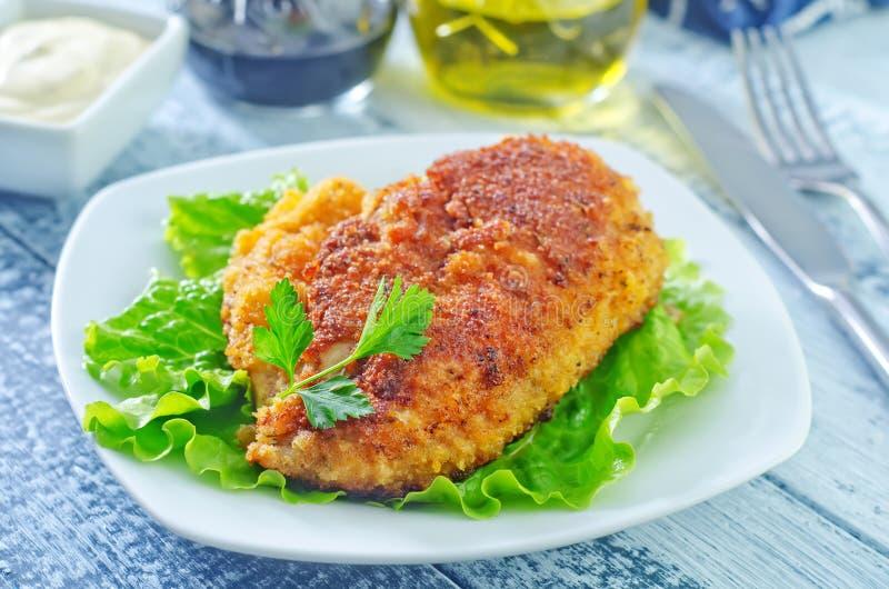 Download Куриная грудка стоковое изображение. изображение насчитывающей мясо - 41660213