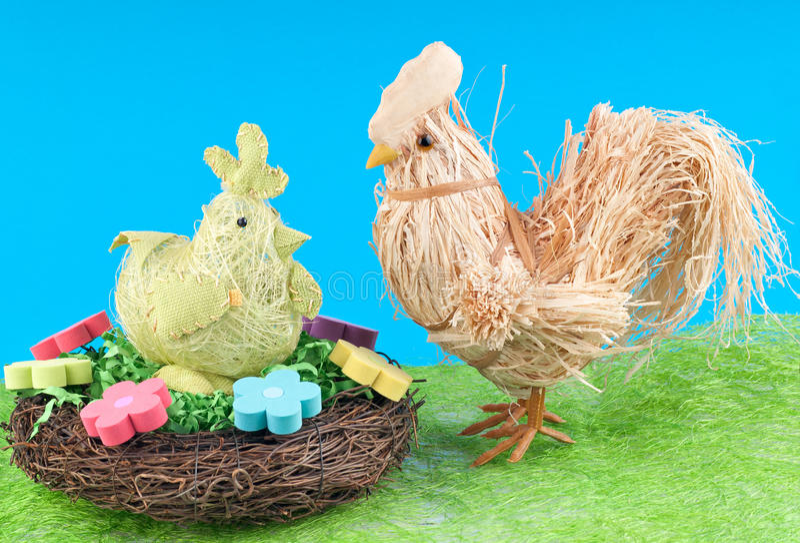 курица крана стоковая фотография rf