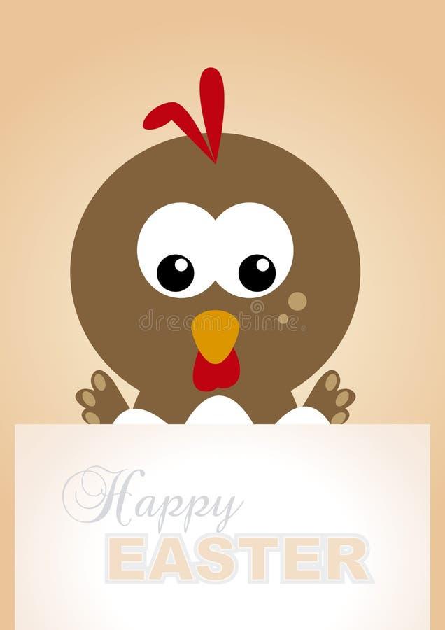 Курица панели пасхи бесплатная иллюстрация