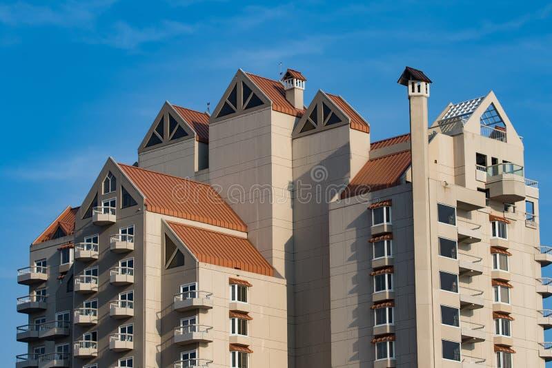 Курортный отель в d'Alene Coeur стоковое фото