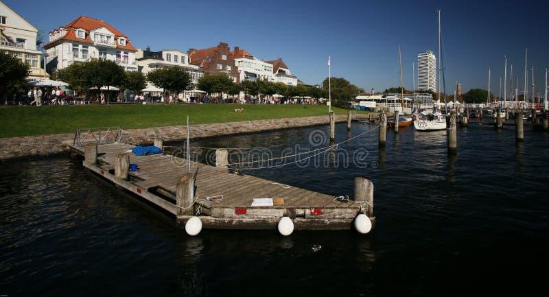 Курорт Балтийского моря стоковое фото