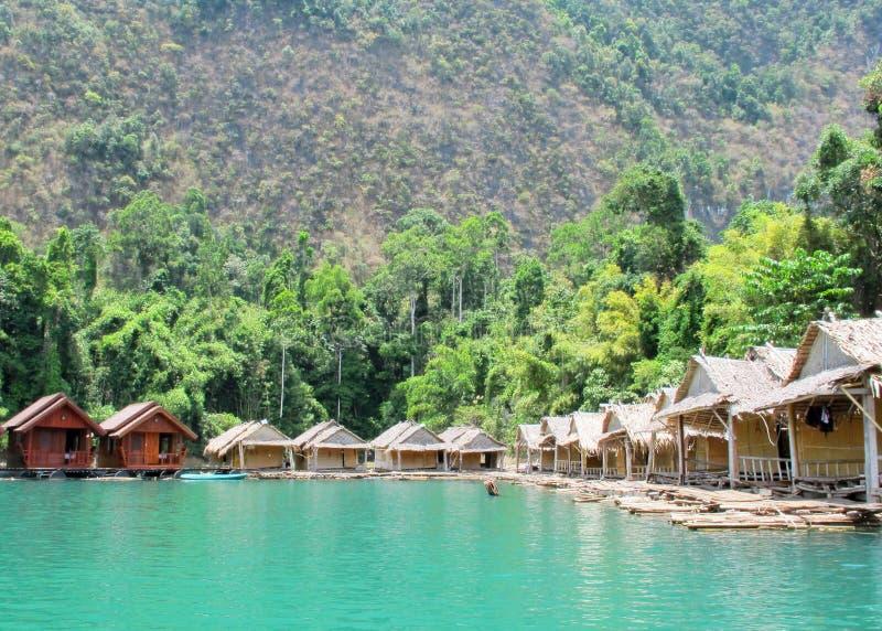 Курорт берега озера стоковые изображения