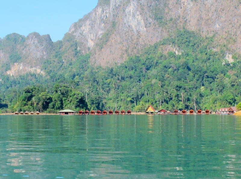 Курорт берега озера стоковые фото