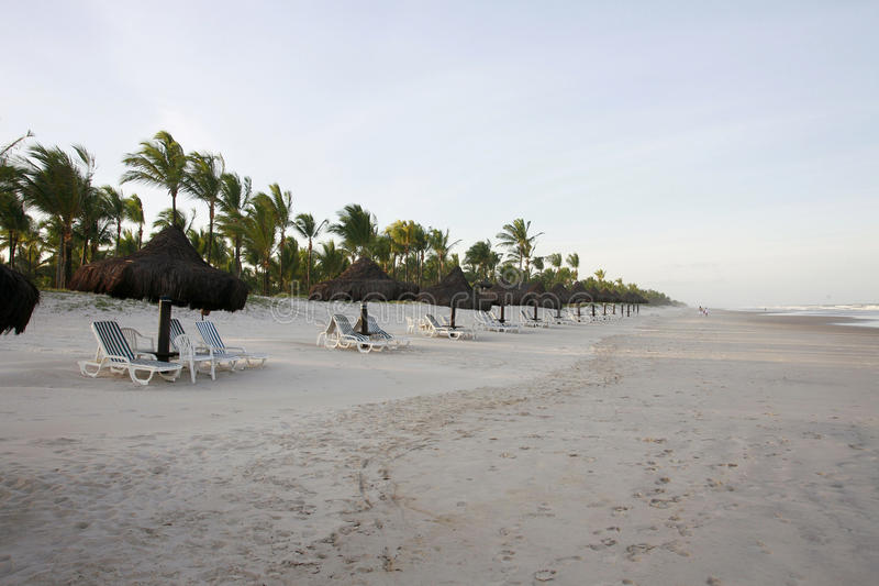 Курорт в Бахе, Бразилии стоковые изображения rf