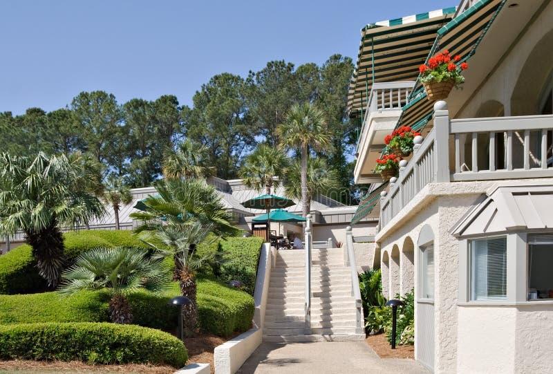 курорт гольфа южный стоковые изображения rf