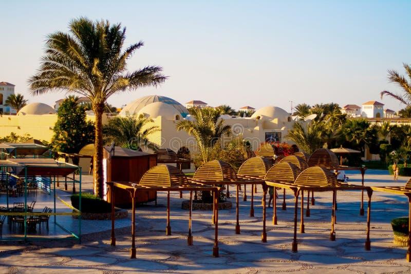 курорт гостиницы Египета стоковые фотографии rf
