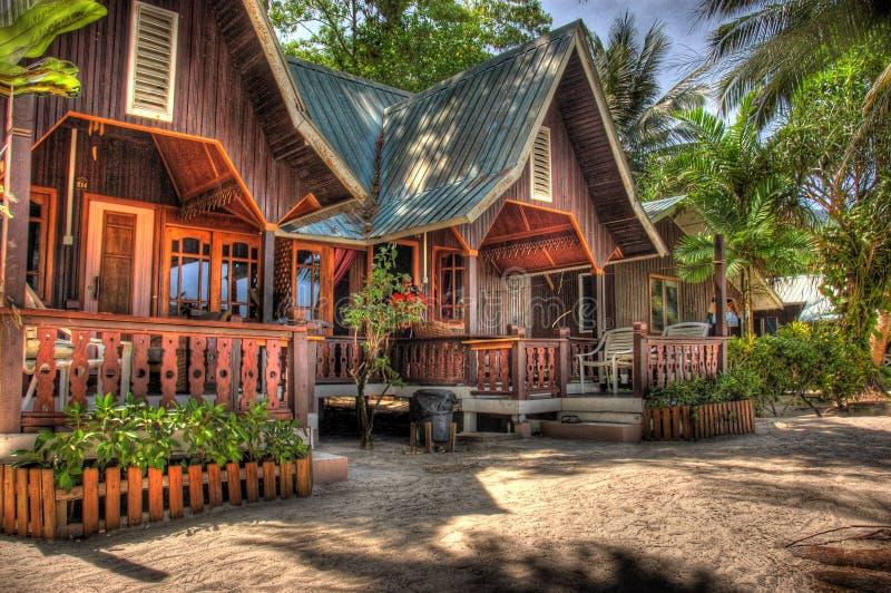курорт дома деревянный стоковые фотографии rf