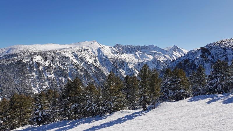 Курорт зимы Bansko стоковое изображение rf