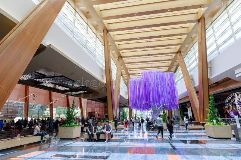 Курорт и казино арии в городе Лас-Вегас в Неваде стоковая фотография