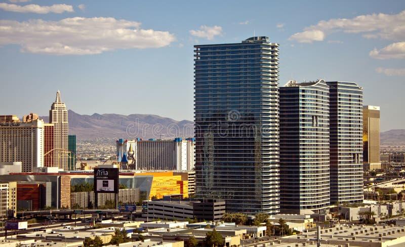 Курорт и казино арии в Las Vegas стоковое фото rf