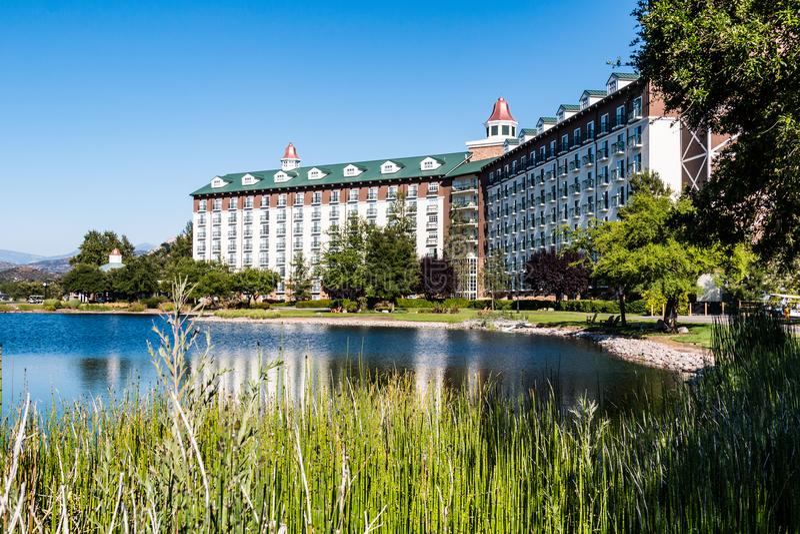 Курорт и казино Barona на индейской резервации Barona стоковое фото