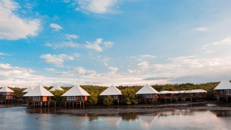 Курорт над морем стоковые изображения