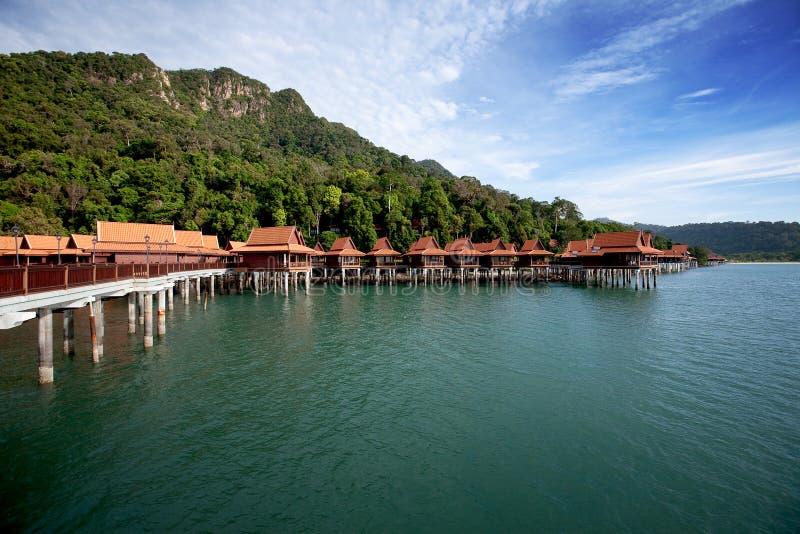 курорт острова праздника тропический стоковая фотография