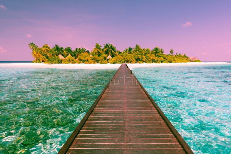 Курорт Angaga Мальдивские острова стоковые фото