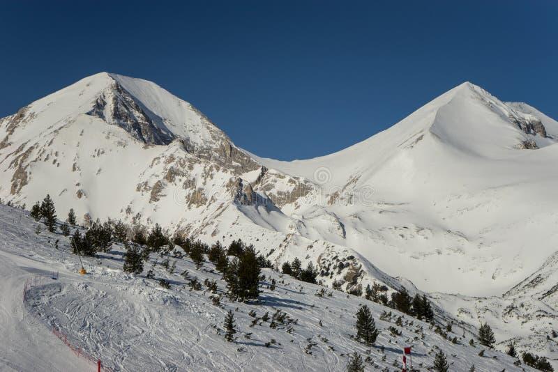 Курорт Bansko Pirin стоковые фото