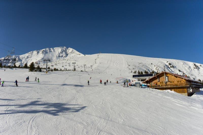 Курорт Bansko Pirin стоковое изображение