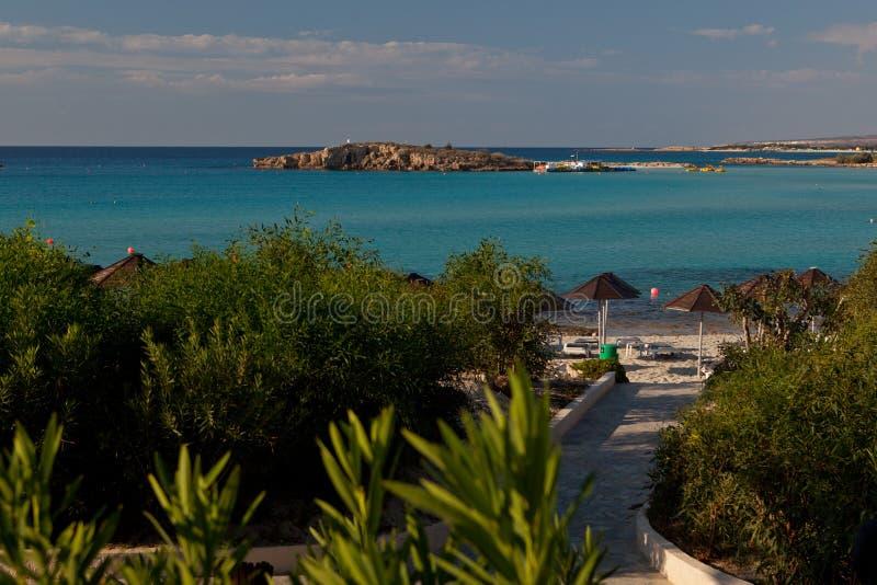 курорт napa Кипра ayia стоковая фотография rf