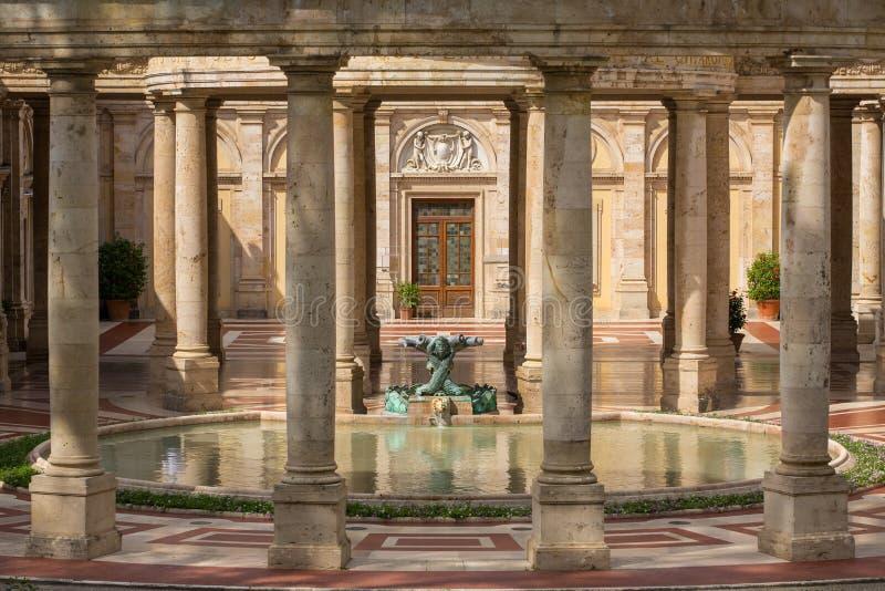 Курорт Tettuccio Terme - самый известный курорт в Montecatini Terme, стоковые изображения