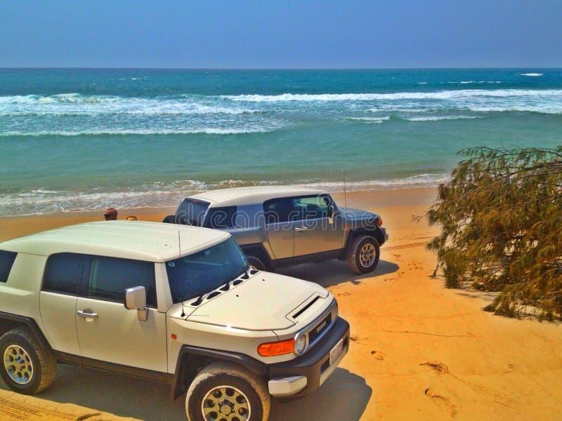 Курсировать пляжа стоковое изображение rf