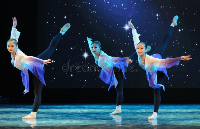 Курс подготовки танца тренировк-Бейсика народного танца стоковые изображения rf