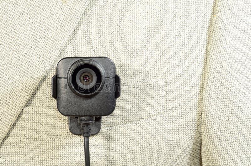 Куртка белизны камеры тела стоковые фотографии rf