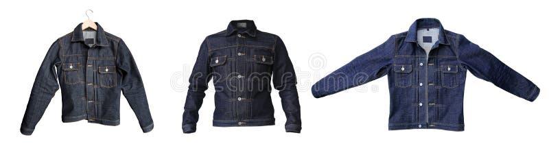 Куртка джинсовой ткани джинсов стоковая фотография