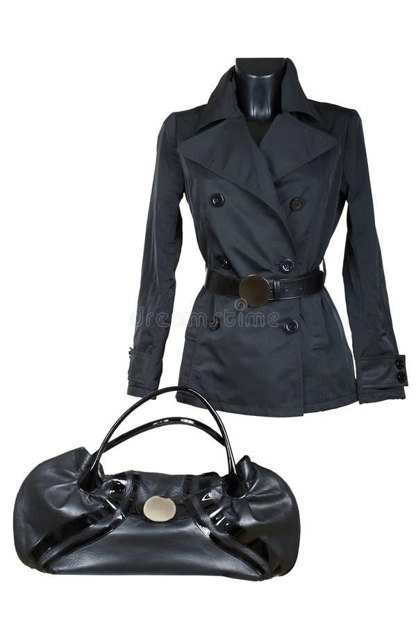 куртка женщины мешка стоковые фотографии rf