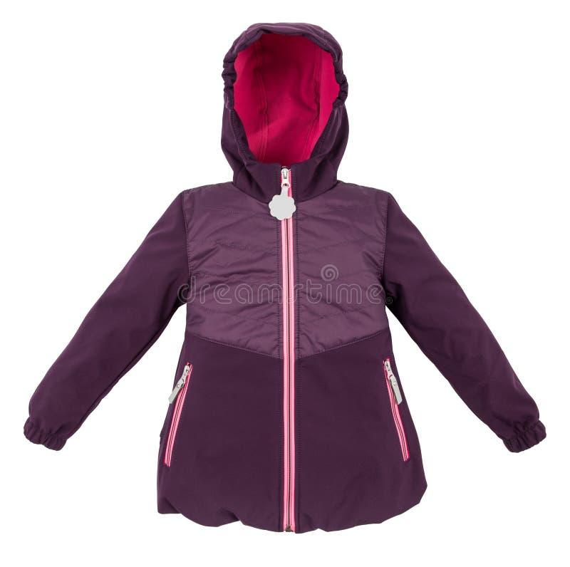 Куртка зимы женщин стоковое фото